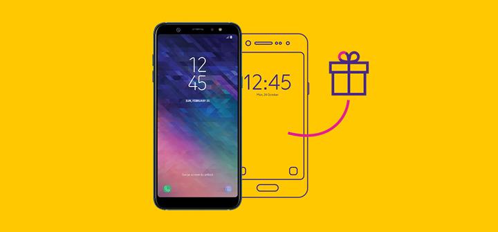 Связной  второй смартфон Samsung в подарок для абонентов МегаФон в ... b87a630c770